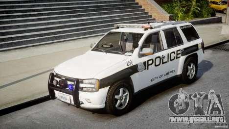 Chevrolet Trailblazer Police V1.5PD [ELS] para GTA 4