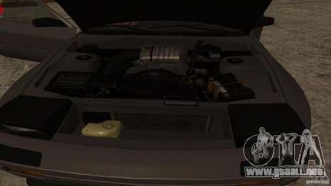 GTA Shift 2 Mazda RX-7 FC3S Speedhunters para GTA San Andreas vista hacia atrás