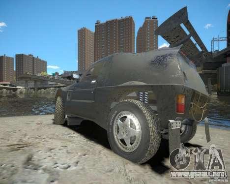 Mitsubishi Pajero Proto Dakar EK86 para GTA 4 visión correcta