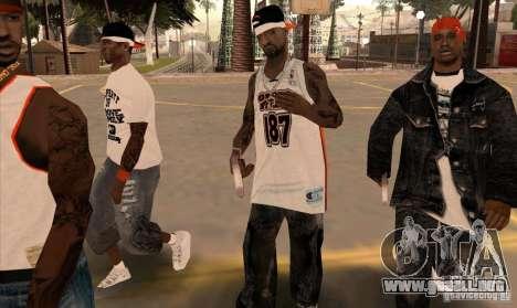 Bandas de reemplazo, tatuajes, ropa, etc.. para GTA San Andreas décimo de pantalla