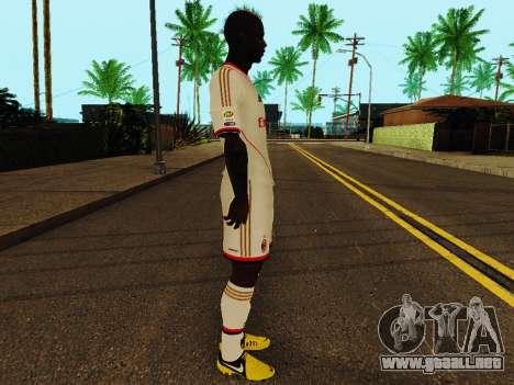 Mario Balotelli v2 para GTA San Andreas segunda pantalla