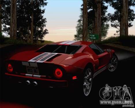 ENBSeries by ibilnaz v 3.0 para GTA San Andreas sexta pantalla