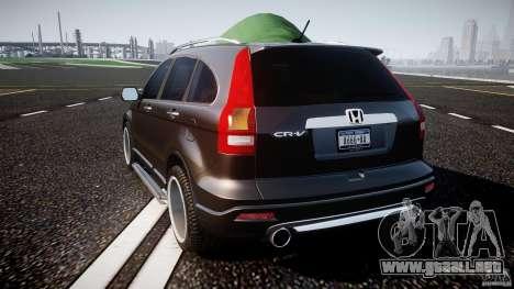 Honda C-RV SeX_BomB 2007 para GTA 4 Vista posterior izquierda