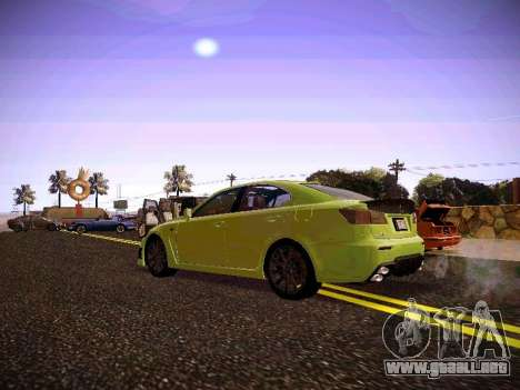 Lexus I SF para la visión correcta GTA San Andreas