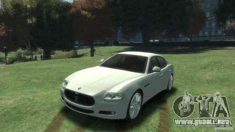 Maserati Quattroporte para GTA 4