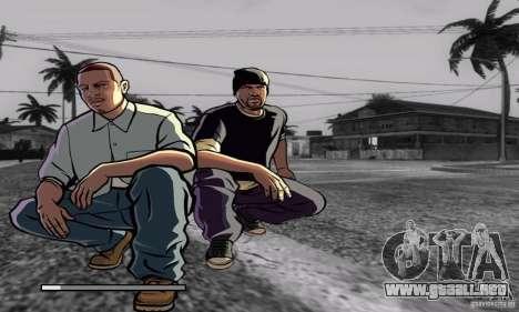 Loadscreens in GTA-IV Style para GTA San Andreas octavo de pantalla