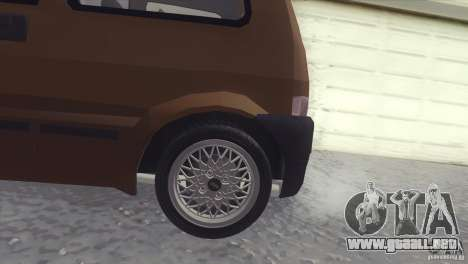 Fiat Cinquecento para GTA San Andreas left