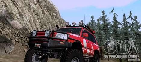 Toyota Land Cruiser 100 Off-Road para GTA San Andreas left