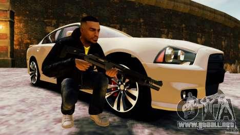 Marshall de Crysis 2 para GTA 4 segundos de pantalla