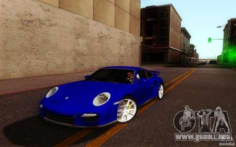 New Graphic by musha v3.0 para GTA San Andreas sucesivamente de pantalla