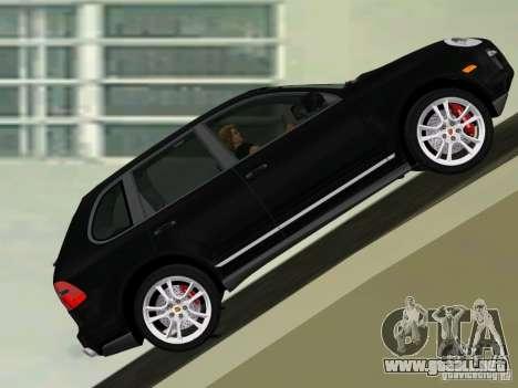 Porsche Cayenne Turbo S para GTA Vice City left