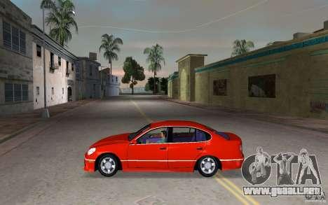 Lexus GS430 para GTA Vice City left