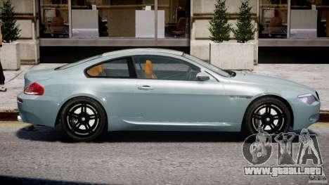 BMW M6 G-Power Hurricane para GTA 4 vista lateral