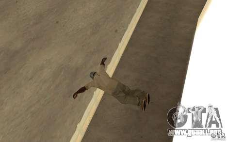 Nueva caída para GTA San Andreas segunda pantalla