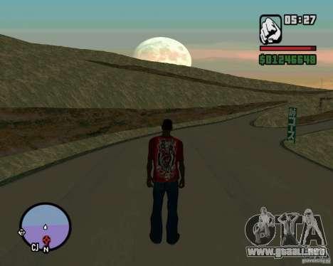 Ebisu Touge para GTA San Andreas