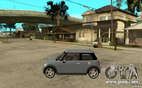 Mini Cooper - Stock para GTA San Andreas left