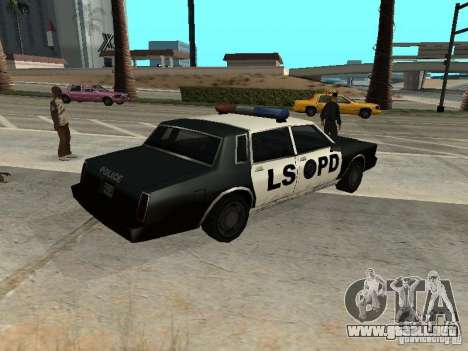 Tahoma Police para GTA San Andreas left