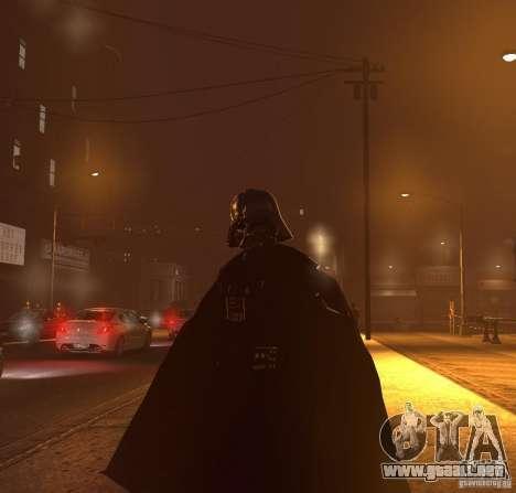 Dart Vader para GTA 4 quinta pantalla