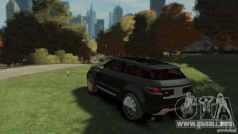 Land Rover Rang Rover LRX Concept para GTA 4 left