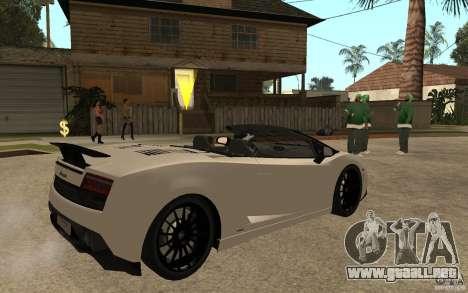 Lamborghini Gallardo LP570-4 para la visión correcta GTA San Andreas