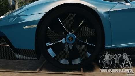 Lamborghini Aventador J 2012 v1.2 para GTA 4 vista lateral
