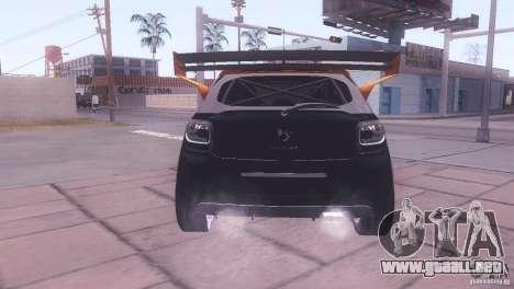 Citroen DS3 Tuning para visión interna GTA San Andreas