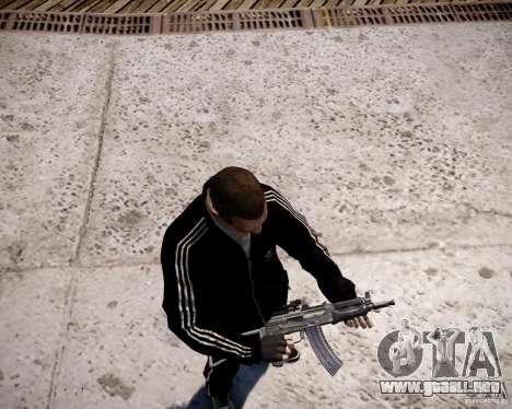AKS-74U para GTA 4 sexto de pantalla