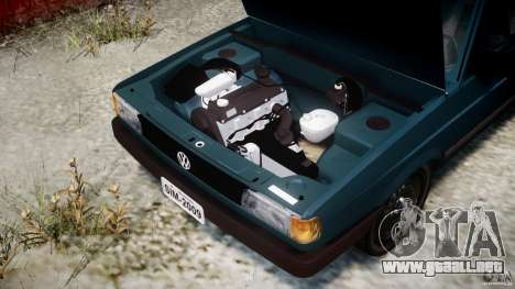 Volkswagen Gol GL para GTA 4 vista hacia atrás