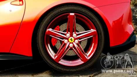 Ferrari F12 Berlinetta 2013 para GTA 4 vista interior