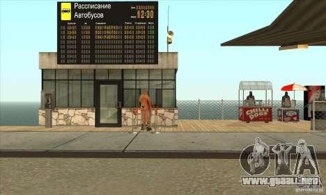 BUSmod para GTA San Andreas octavo de pantalla