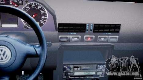 Volkswagen Bora para GTA 4 vista superior