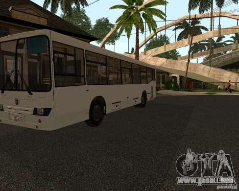 NEFAZ 5299 para GTA San Andreas left