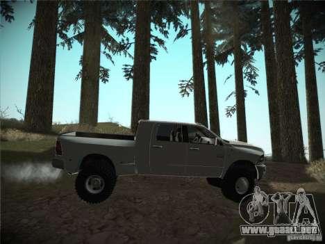 Dodge Ram 3500 4X4 para la visión correcta GTA San Andreas