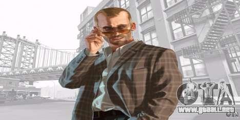 Pantallas de inicio de GTA IV v. 2.0 para GTA San Andreas tercera pantalla