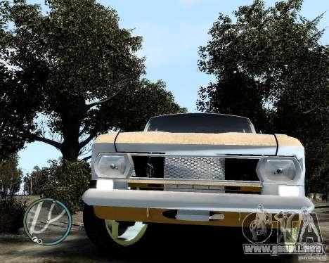 Moskvič 412 Street Racer [alfa] para GTA 4 vista hacia atrás