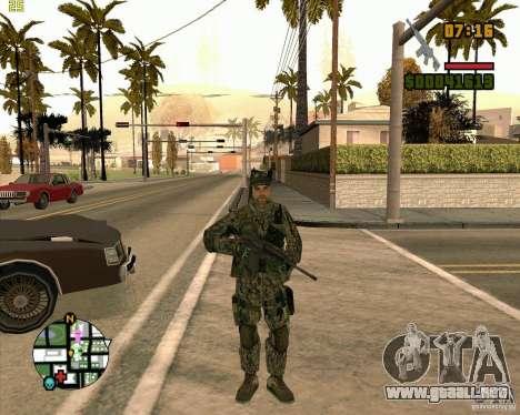 Nuevos soldados para GTA San Andreas segunda pantalla
