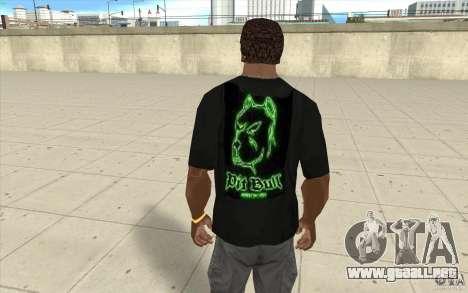Hoyo bill t-shirt para GTA San Andreas segunda pantalla