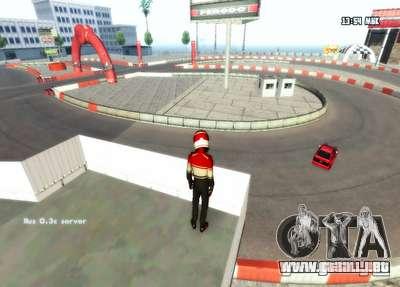 Deriva de Londres para GTA San Andreas sucesivamente de pantalla