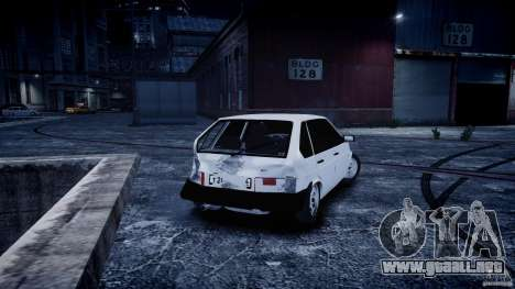 VAZ 2109 para GTA 4 vista interior