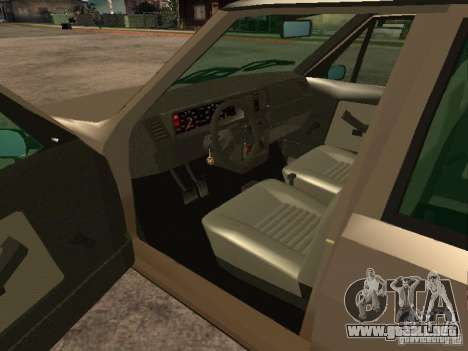 Fiat Ritmo para GTA San Andreas vista posterior izquierda