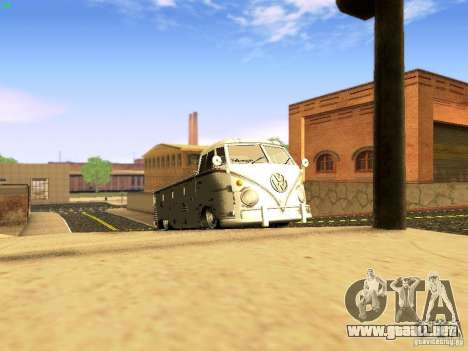 Volkswagen Type 2 Single Cab Rat para visión interna GTA San Andreas