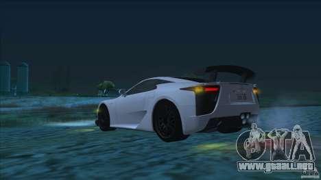 Improved Vehicle Features v2.0.2 (IVF) para GTA San Andreas segunda pantalla
