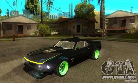 Ford Mustang RTR-X 1969 para GTA San Andreas
