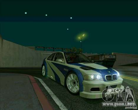 BMW M3 GTR Final para GTA San Andreas