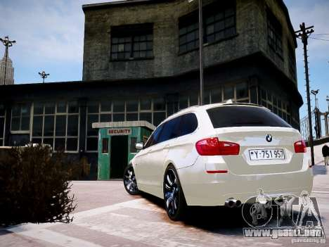 BMW 525i Touring para GTA 4 left