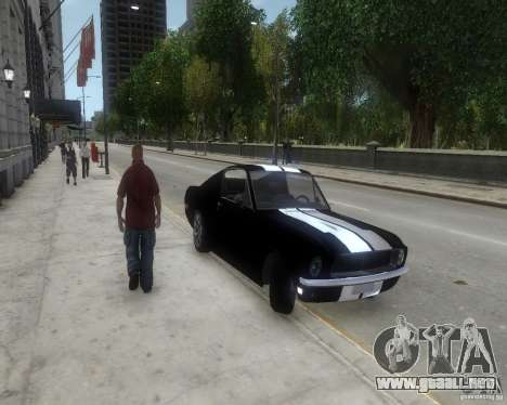 Ford Mustang Tokyo Drift para GTA 4 left