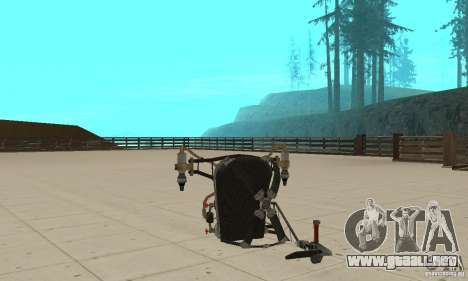 Un nuevo Jetpack para GTA San Andreas tercera pantalla