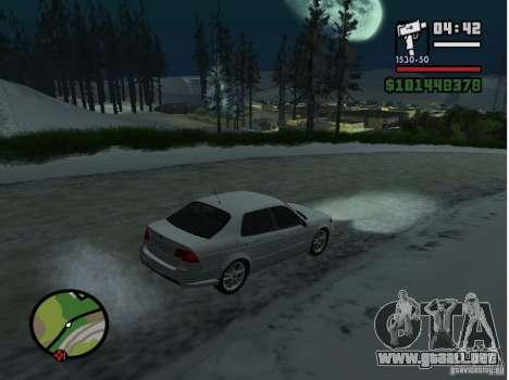 Winter Mod para GTA San Andreas tercera pantalla