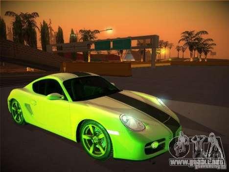 Porsche Cayman S Snow para GTA San Andreas