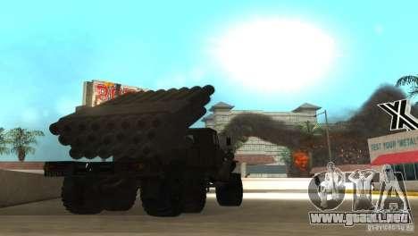 Ural 4320 Grad v2 para la visión correcta GTA San Andreas